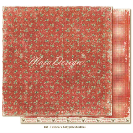 Maja Design - I wish - for a holly jolly Christmas