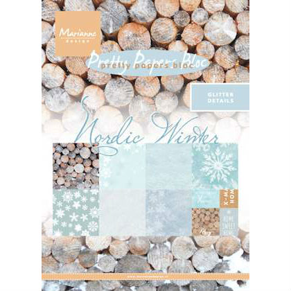 Marianne Design - Pretty Papers Bloc - Nordic Winter