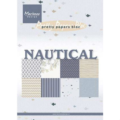 Mariann Design – Pretty parpers bloc – Nautical
