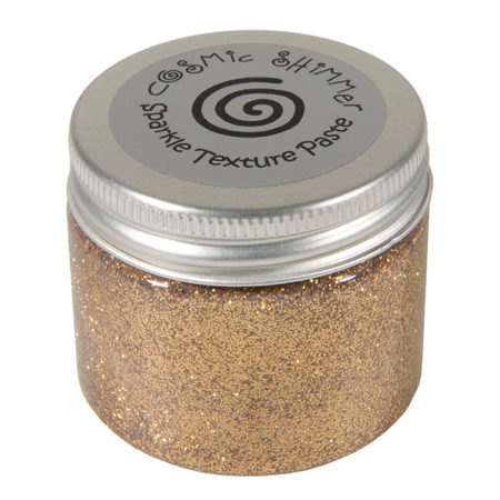 Cosmic Shimmer Sparkle Paste - Warm Gold