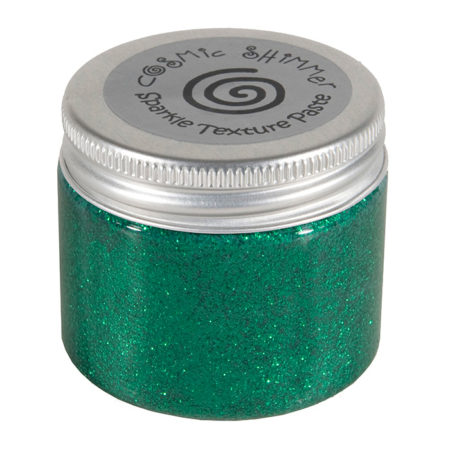 Cosmic Shimmer Sparkle Paste - Emerald