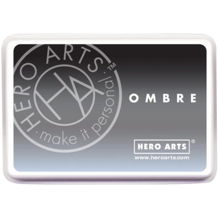 Hero Arts Ombre Ink Pad - Soft Granite to Black