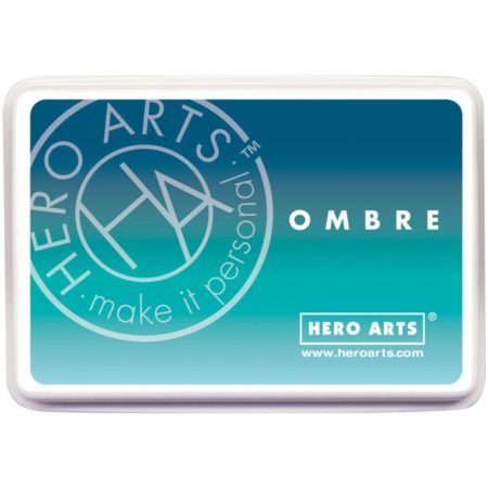 Hero Arts Ombre Ink Pad - Tide Pool to Navy