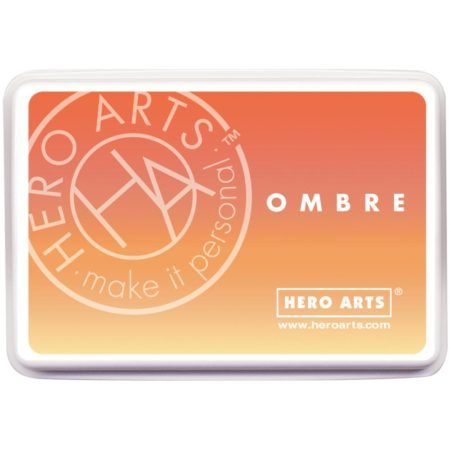 Hero Arts Ombre Ink Pad - Butter Bar to Orange Soda