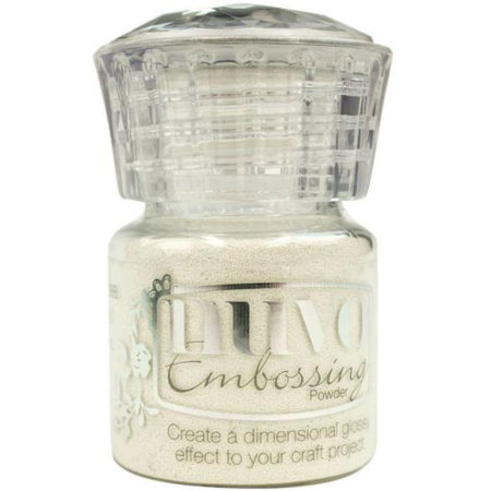 Nuvo Embossing Powder - Glacier White
