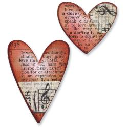 Tim Holtz - Movers & Shapers - Mini Hearts Set