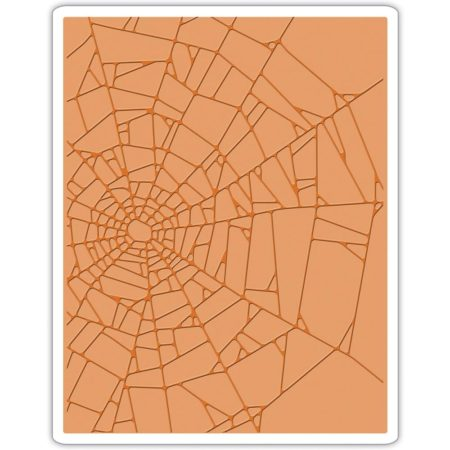 Sizzix Embossing Folder - Cobwebs