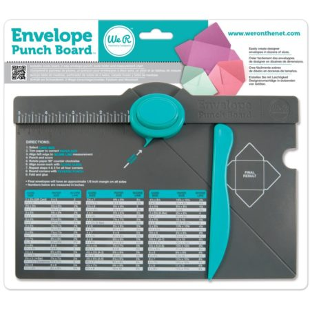 WE R MEMORY KEEPERS - Konvolut Punch Board