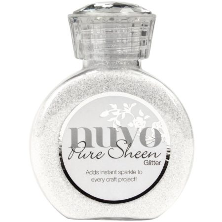 Nuvo Pure Sheen Glitter - Ice White