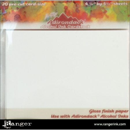 Ranger - Adirondack Alcohol Ink Cardstock By Tim Holtz