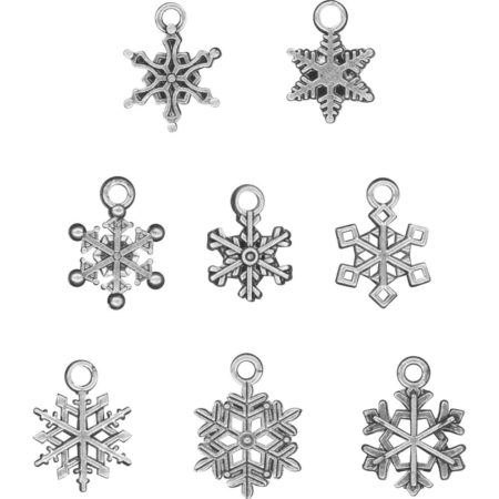 Tim Holtz - Idea-Ology Metal - Snowflakes - TH93763