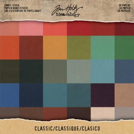 Tim Holtz - idea-ology - kraft cardstock - Classic - TH93585
