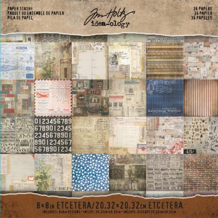 Tim Holtz - idea-ology - paper Stash - Etcetera - TH93551