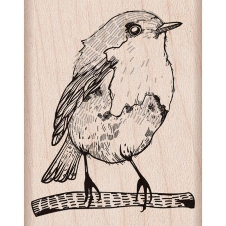 Hero Arts - Wood Mounted Rubber Stamps - Bird