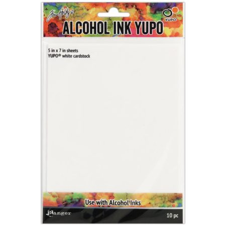 Ranger - Tim Holtz Alcohol Ink White Yupo Paper