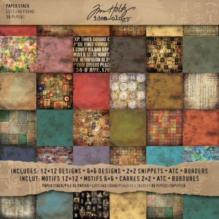 Tim Holtz – Idea-Ology Paper - Lost & Found - TH92825