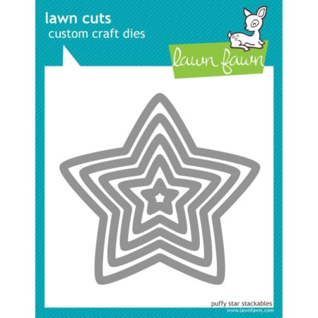 "Lawn Favn - Puffy Star, .812"" To 4.5"""