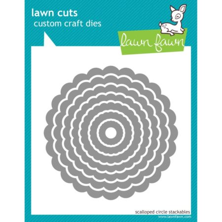 "Lawn Favn - Scallop Circles, .625"" To 4"" - LF523"