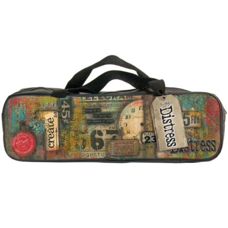"Tim Holtz - Designer Accessory Bag 14.5""X2.75""X4.5"""