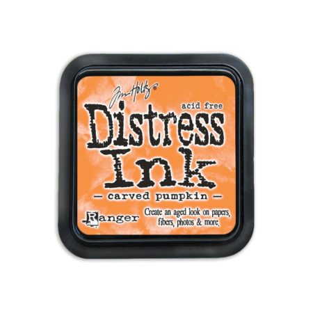 Tim Holtz Distress Ink Pad Carved Pumpkin - TIM43201