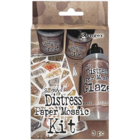 Tim Holtz Distress Paper Mosaic Kit - TDK47858