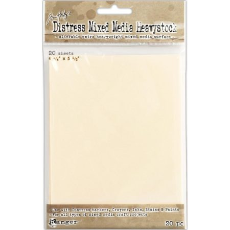 Tim Holtz Distress Mixed Media Heavystock Tags 20/Pkg - TDA53835