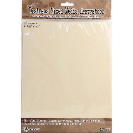 Tim Holtz Distress Mixed Media Heavystock Tags 10/Pkg - TDA53842