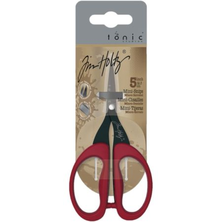 Tim Holtz Non-Stick Micro Serrated Mini Snips 5