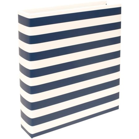Project Life - Navy Stripe - Album 6 x 8 - 380558