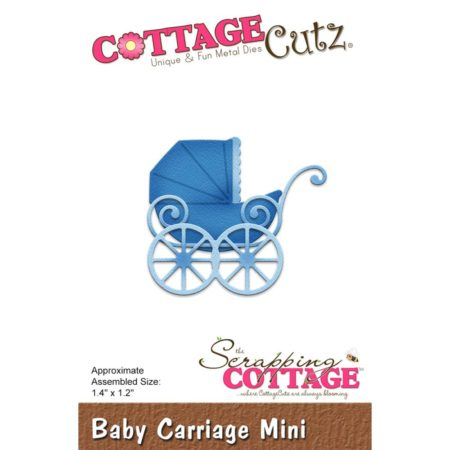 Cottage Cutz - Baby Carriage Mini - CC-277