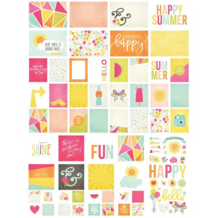 Simple Stories Snap -Card Pack -Sunshine & Happiness
