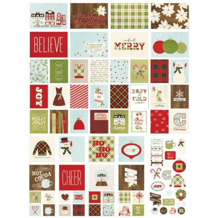Simple Stories Snap -Card Pack -Classic Christmas