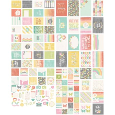 Simple Stories Snap -Card Pack -Happy