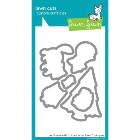 Lawn Fawn Dies - Critter In The Forest - LF486