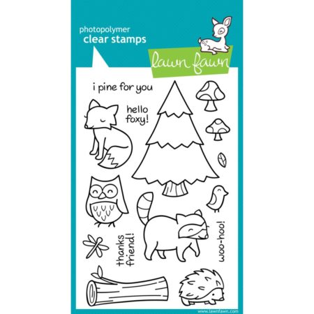 Lawn Fawn Clear Stamps - Critters In The Forest - LF314