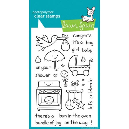 Lawn Fawn Clear Stamps - Plus 1 - LF337