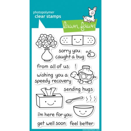 Lawn Fawn Clear Stamps - On The Mend - LF351