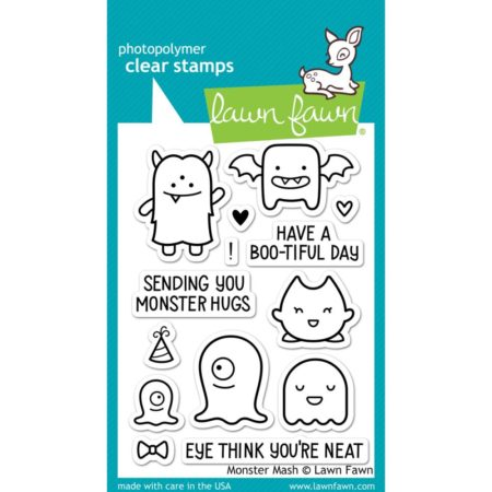 Lawn Fawn Clear Stamps - Monster Mash - LF700