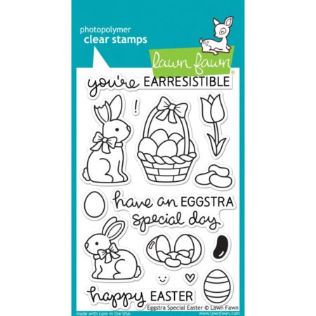 Lawn Fawn Clear Stamps - Eggstra Special Easter - LF840