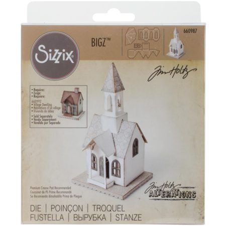 Tim Holtz/Sizzix Die - Bigz - Village Bell Tower - 660987