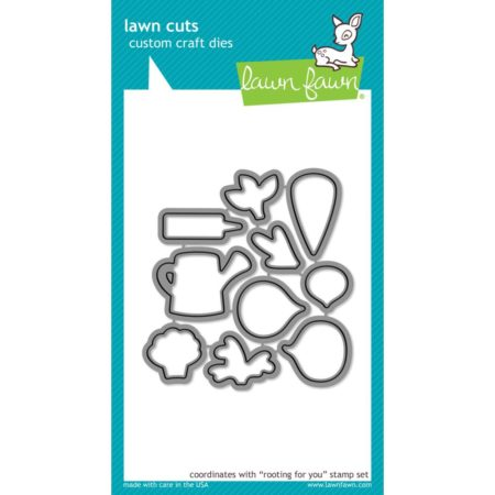 Lawn Fawn Dies - Rooting For You - LF1041
