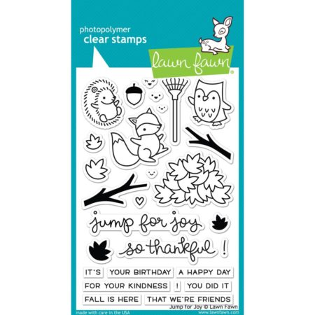 Lawn Fawn Clear Stamps - Jump For Joy - LF1212