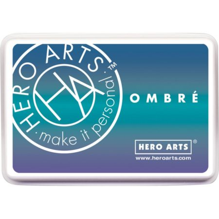 Hero Arts Ombre Ink Pad - Ombre Mermaid - AF365
