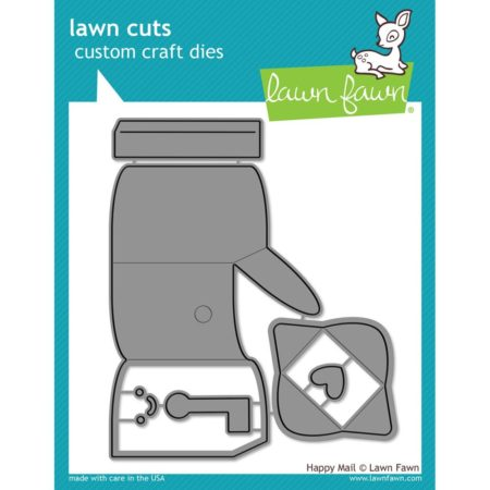 Lawn Fawn Dies - Happy Mail - LF1294