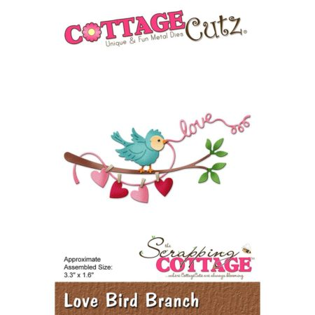 Cottage Cutz - Love Bird Branch - CC-263