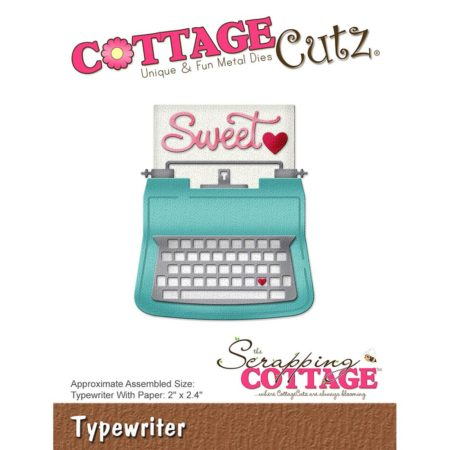 Cottage Cutz - Typewriter - CC-272