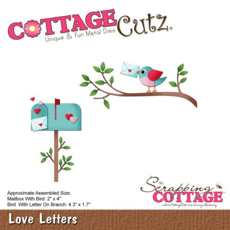 Cottage Cutz - Love Letters - CC-266