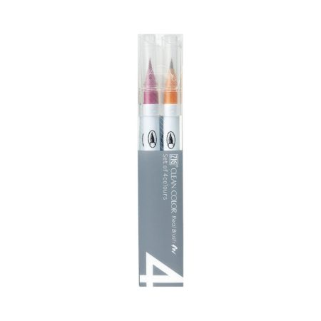 Zig Clean Color - 4 Color set Pale