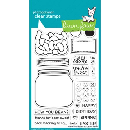 Lawn Fawn Clear Stamps - How You Bean - LF1325