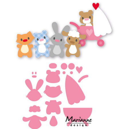 Marianne Design – Baby Animals - COL1422